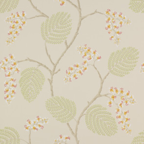 Colefax and Fowler - Celestine - Atwood 7141/05 Coral/Green