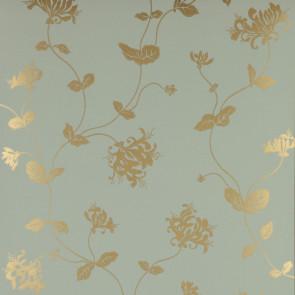 Colefax and Fowler - Summer Palace - Honeysuckle 7946/06 Aqua/Gold