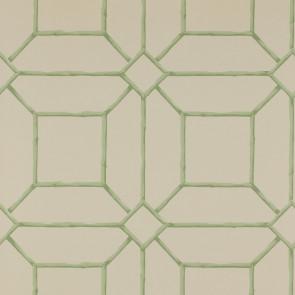 Colefax and Fowler - Summer Palace - Garden Trellis 7947/01 Green/Cream