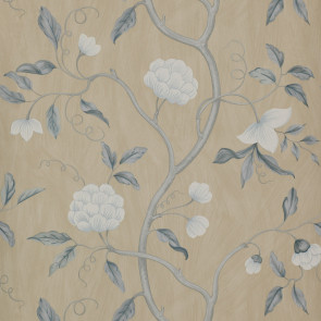 Colefax and Fowler - Summer Palace/Baptista - Snow Tree 7949/09 Blue/Cream
