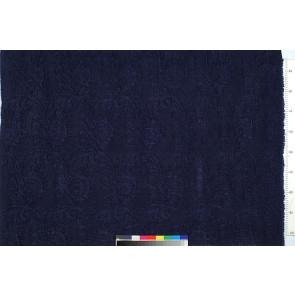 Dominique Kieffer - Damas - Bleu de prusse 17116-006