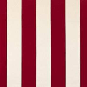 Dominique Kieffer - Larges Rayures de Coton - Rouge et blanc 17183-005