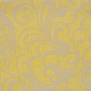 Casamance - Cape Grim - Motif Baroque Jaune 812173