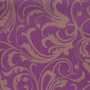 Casamance - Cape Grim - Motif Baroque Violet 815125