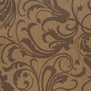 Casamance - Cape Grim - Motif Baroque Marron 819160