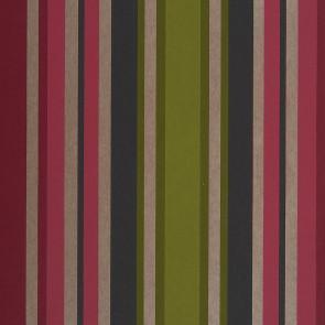 Casamance - Hampton Garden - Anemone Rayures Fuchsia 9370315