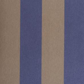 Casamance - Hampton Garden - Boxwood Rayure Bicolore Bleu 9380101