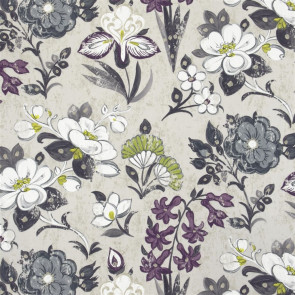 Designers Guild - Lotus Flower - Charcoal - F1835-04