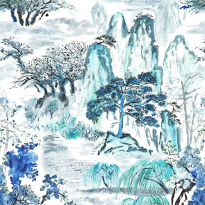 Designers Guild - Jade Temple - Cornflower - FDG2296-01