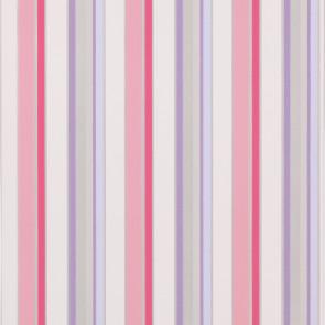 Jane Churchill - Get Happy - Disco Stripe - J142W-02 Pink/Silver