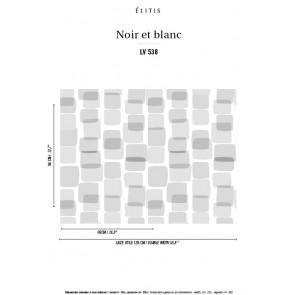 Élitis - Noir et blanc - Le sens du moment LV 538 03