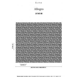 Élitis - Allegro - Imposer son style LV 545 80