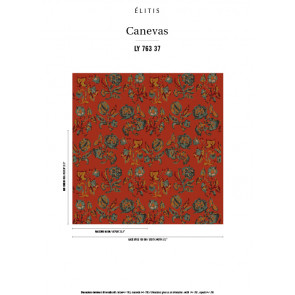 Élitis - Canevas - Un twist de sensualité LY 763 37