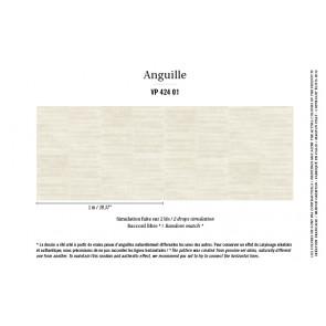 Élitis - Anguille big croco galuchat - Anguille - VP 424 01 Donner le ton