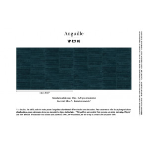 Élitis - Anguille big croco galuchat - Anguille - VP 424 09 Follement glamour !