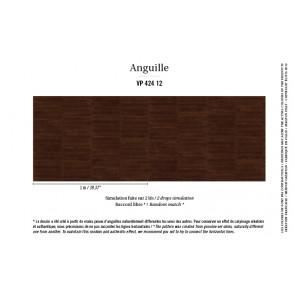 Élitis - Anguille big croco galuchat - Anguille - VP 424 12 Afro chic !