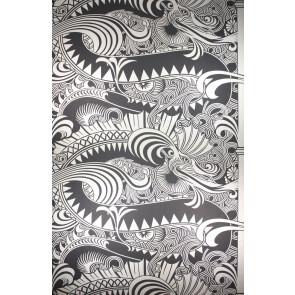 Osborne & Little - O&L Wallpaper Album 5 - Chinese Dragon W5550-01