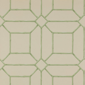 Colefax and Fowler - Summer Palace - Garden Trellis 7947/01 Green/Cream