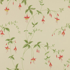 Colefax and Fowler - Fontenay - Viviers 7964/04 Tomato/Green