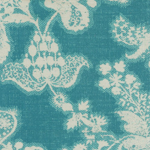 Rubelli - Margaret`s Bouquet - 30301-008 Teal Blue