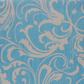 Casamance - Cape Grim - Motif Baroque Turquoise 816177