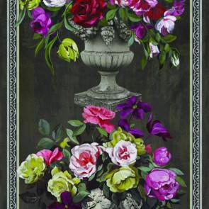 Designers Guild - Ornamental Gardem Panel Print - Slate - F1754-01