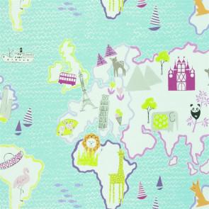 Designers Guild - Around The World - Rose - F1825-02