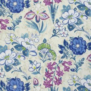 Designers Guild - Lotus Flower - Teal - F1835-02