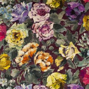 Designers Guild - Bloomsbury Rose - Damson - FDG2355-02