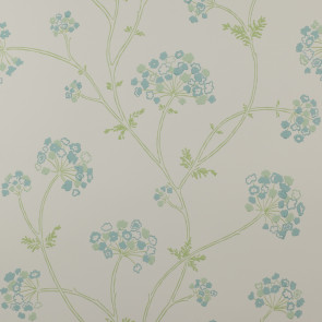 Jane Churchill - Fairhaven - Angelica - J103W-02 Aqua/Green
