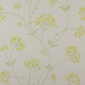 Jane Churchill - Fairhaven - Angelica - J103W-03 Yellow/Green