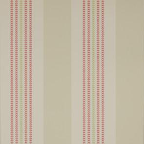 Jane Churchill - Alba - Celia Stripe - J119W-01 Red/Beige