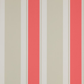 Jane Churchill - Brightwood - Helford Stripe - J134W-06 Red