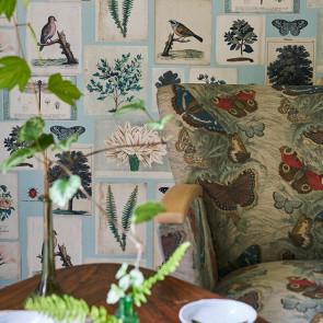 John Derian - Butterfly Thistle - FJD6015/01 Linen