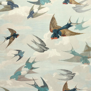 John Derian - Chimney Swallows - PJD6003/01 Sky Blue