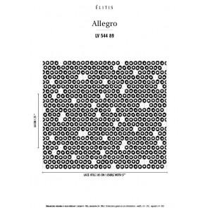 Élitis - Allegro - Volte face LV 544 89