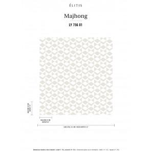 Élitis - Mahjong - Jeu blanc LY 756 01