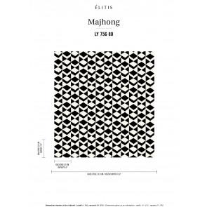 Élitis - Mahjong - Prenons le temps LY 756 80
