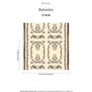 Élitis - Boiserie - Dandyssime LY 760 80