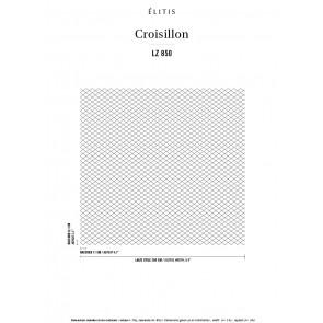 Élitis - Croisillon - Son idée de l'élégance LZ 850 83