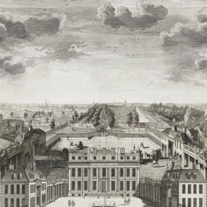 The Royal Collection - Buckingham House - Panel - PRC671/01 Graphite